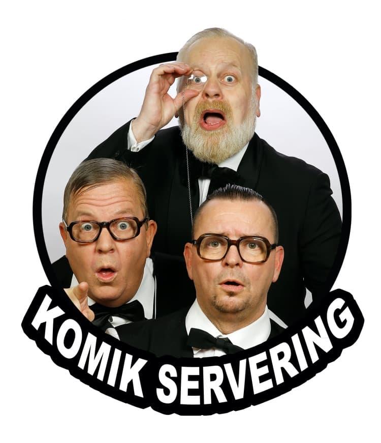 Komik servering